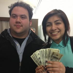 Gilberto Sandoval & Elizabeth Ortiz of Yollocalli Arts Reach.