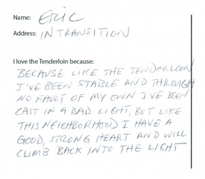 Tenderloin Postcard