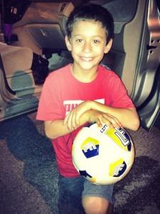 Have a ball kiddo